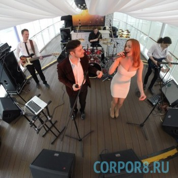 Кавер-группа «Гуашь» выступление на теплоходе!
